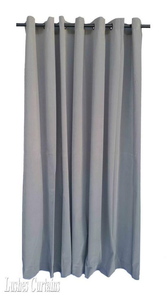 """84 Best Images About Visconti Sforza Tarot On Pinterest: Gray 84""""H Velvet Curtain Panel W/Ring Grommet Top Eyelets"""