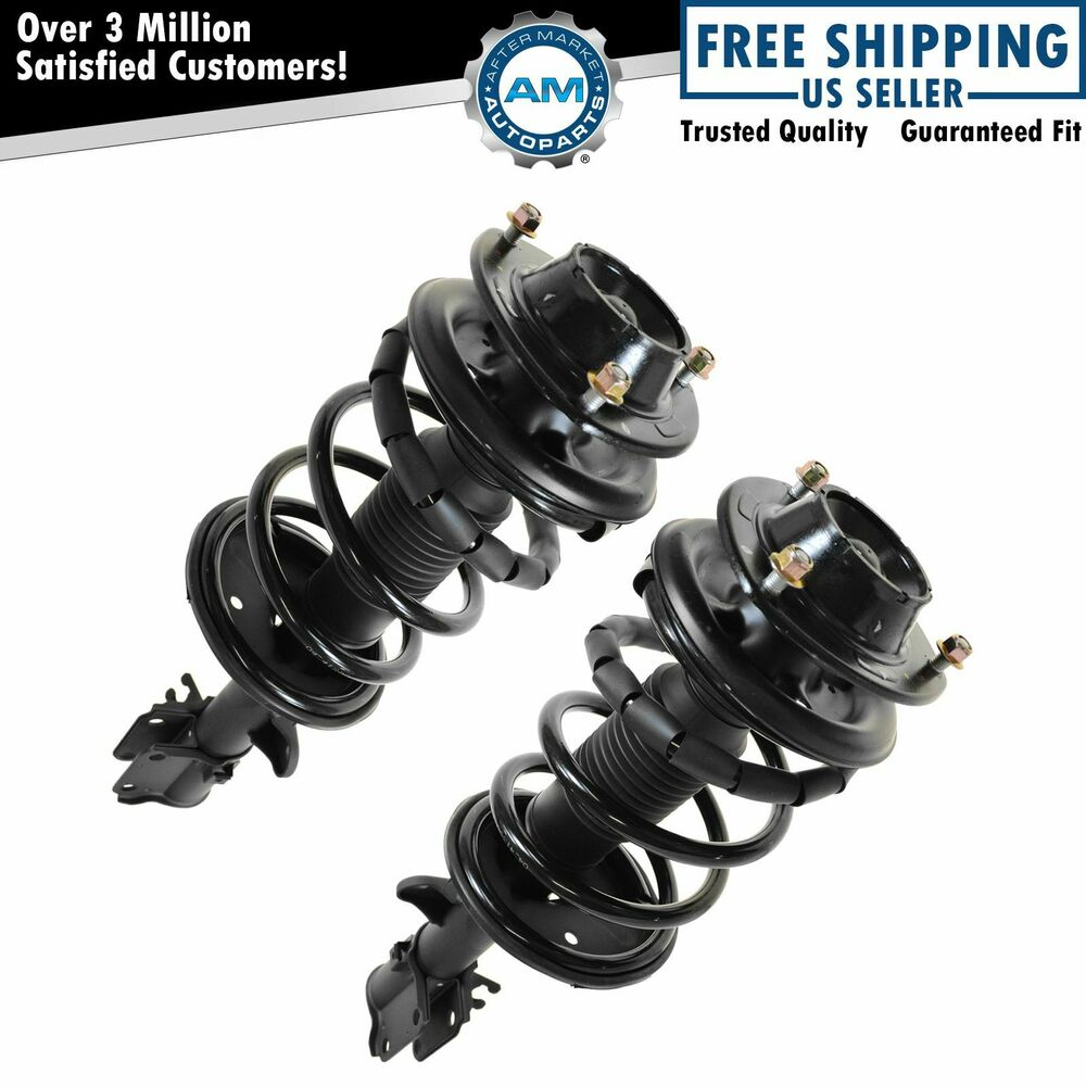 2005 Kia Sportage Suspension: Struts & Springs Assembly Front Left & Right Pair Set For