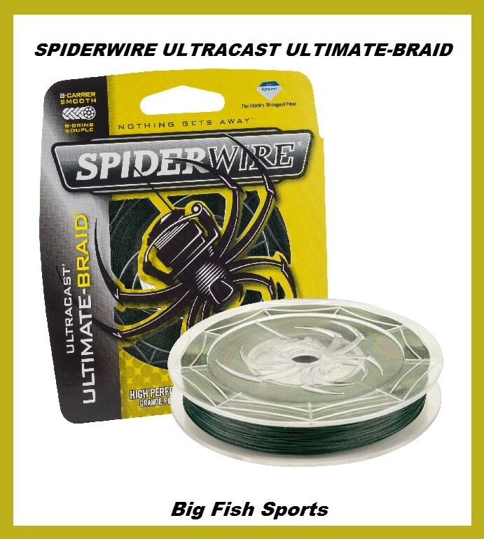 Spiderwire ultracast ultimate braid fishing line 50lb for 50 lb braided fishing line