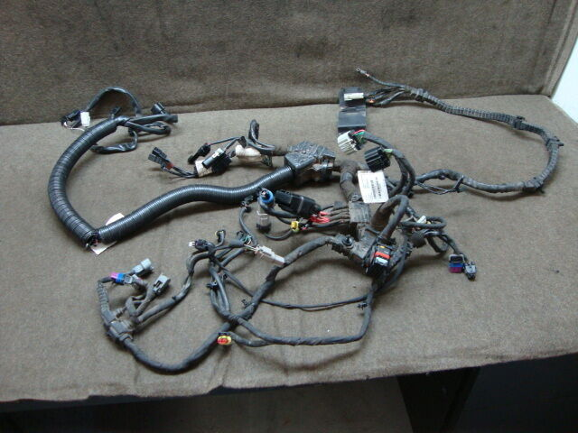 13 2013 HARLEY FXDWG DYNA WIDE GLIDE WIRE HARNESS, MAIN #6969 | eBay