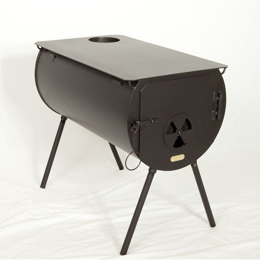 New Yukon Cylinder Wood Stove For Wall Tent Made In The