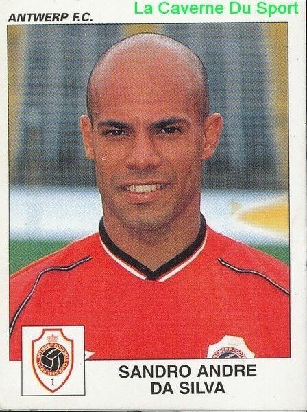 060 sandro andre da silva brazil royal antwerp fc sticker football 2001 panini ebay. Black Bedroom Furniture Sets. Home Design Ideas
