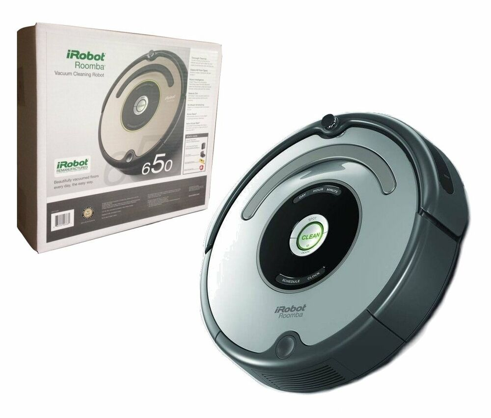 Irobot Roomba 650 Automatic Vacuum Cleaner Robot Includes