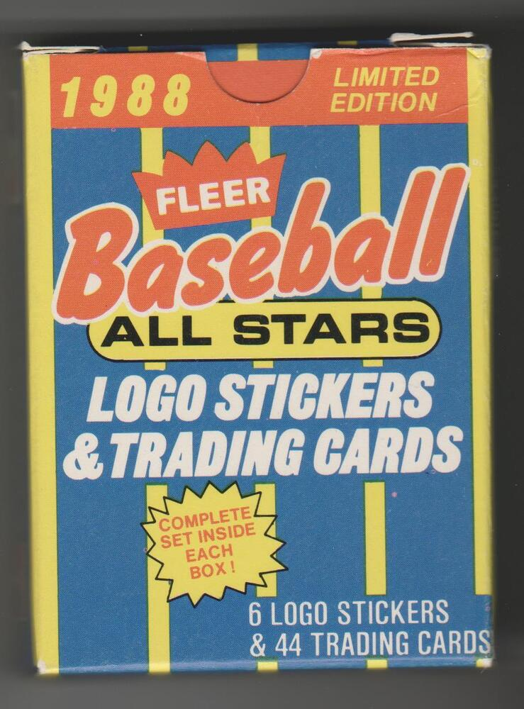 1988 Fleer Ben Franklin All Stars 44 Card Baseball Factory