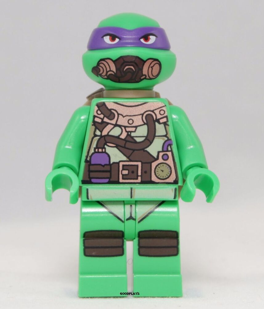Lego Teenage Ninja Turtles Toys : Lego teenage mutant ninja turtles donatello minifigure