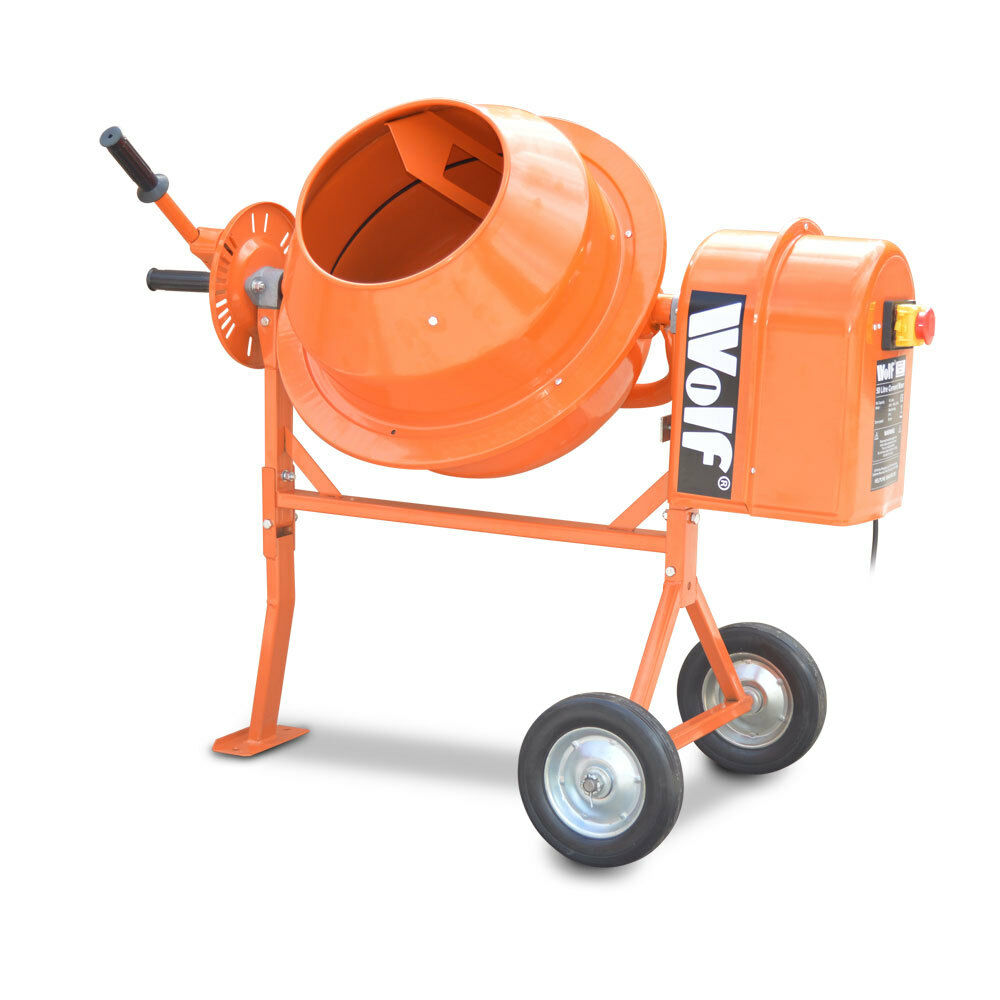 Mixers Mixers Vicking Vs Wolf ~ Wolf l concrete mixer w electric cement mortar