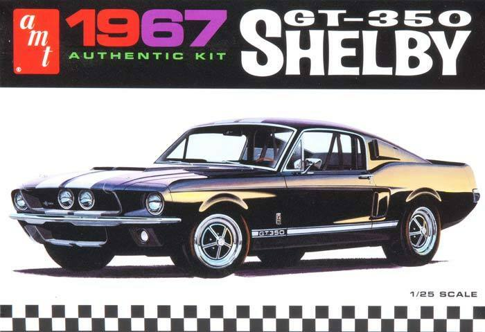 amt 1 25 39 67 1967 shelby gt 350 mustang plastic model kit 800 molded in white ebay. Black Bedroom Furniture Sets. Home Design Ideas