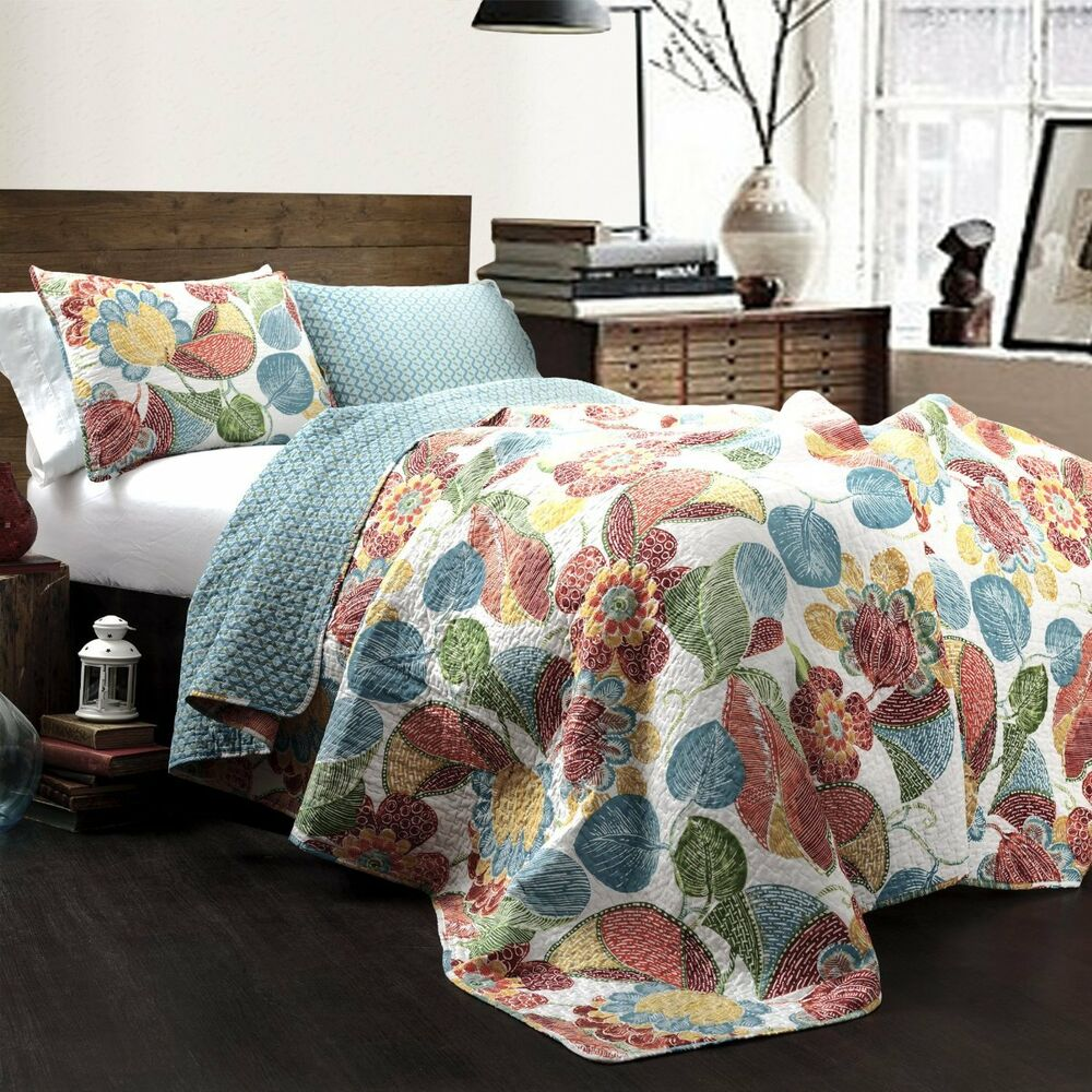 Maui Island King Quilt Set Beach House Coastal