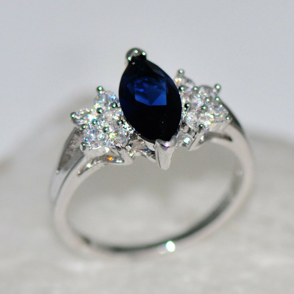 10 Engagement Rings With Blue Stones 5 Less Than 500 Which Would to