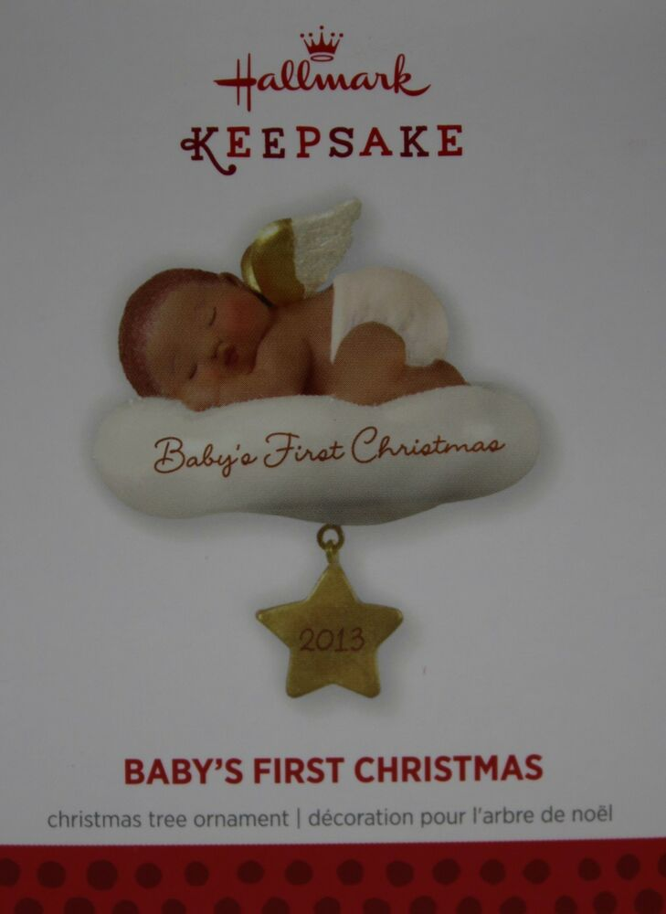 Hallmark 2013 African American Angel on Cloud Baby's First ...