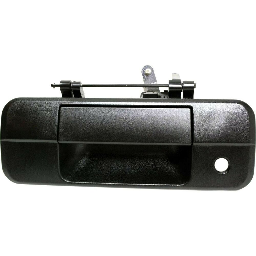 Tailgate Handle For 2007 2013 Toyota Tundra Black Ebay