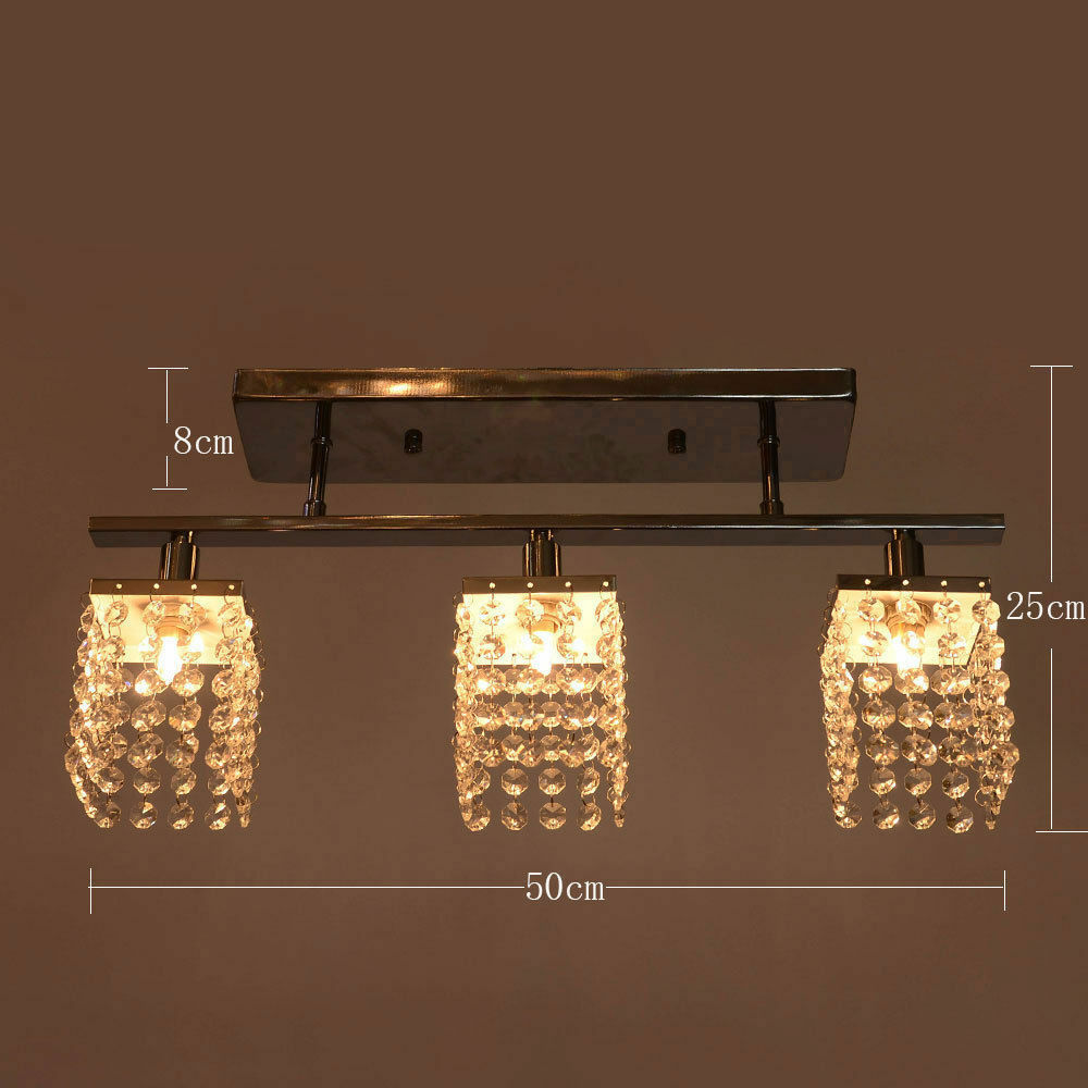 Modern Pendant Lamp Fixture Light Lamp Crystal Chandelier