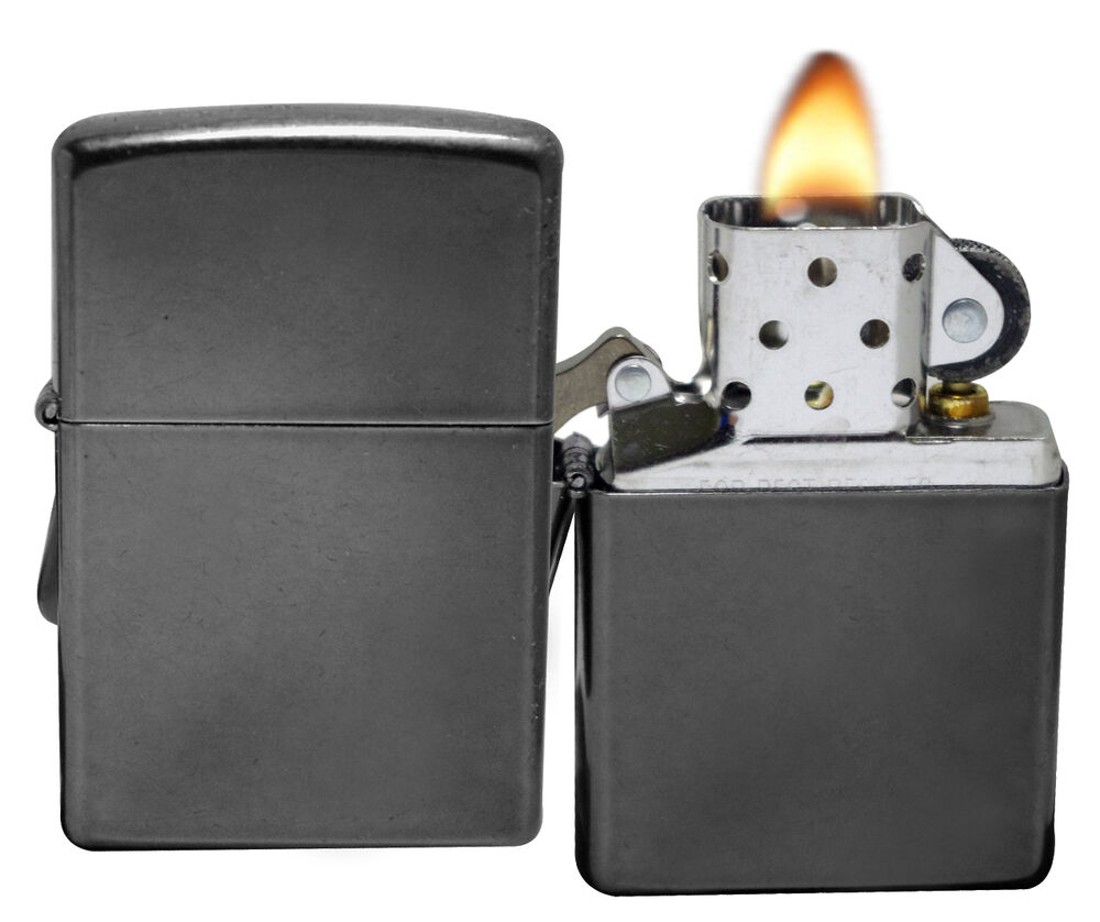Zippo 28378 Gray Dusk Windproof Classic Pocket Lighter NEW | eBay