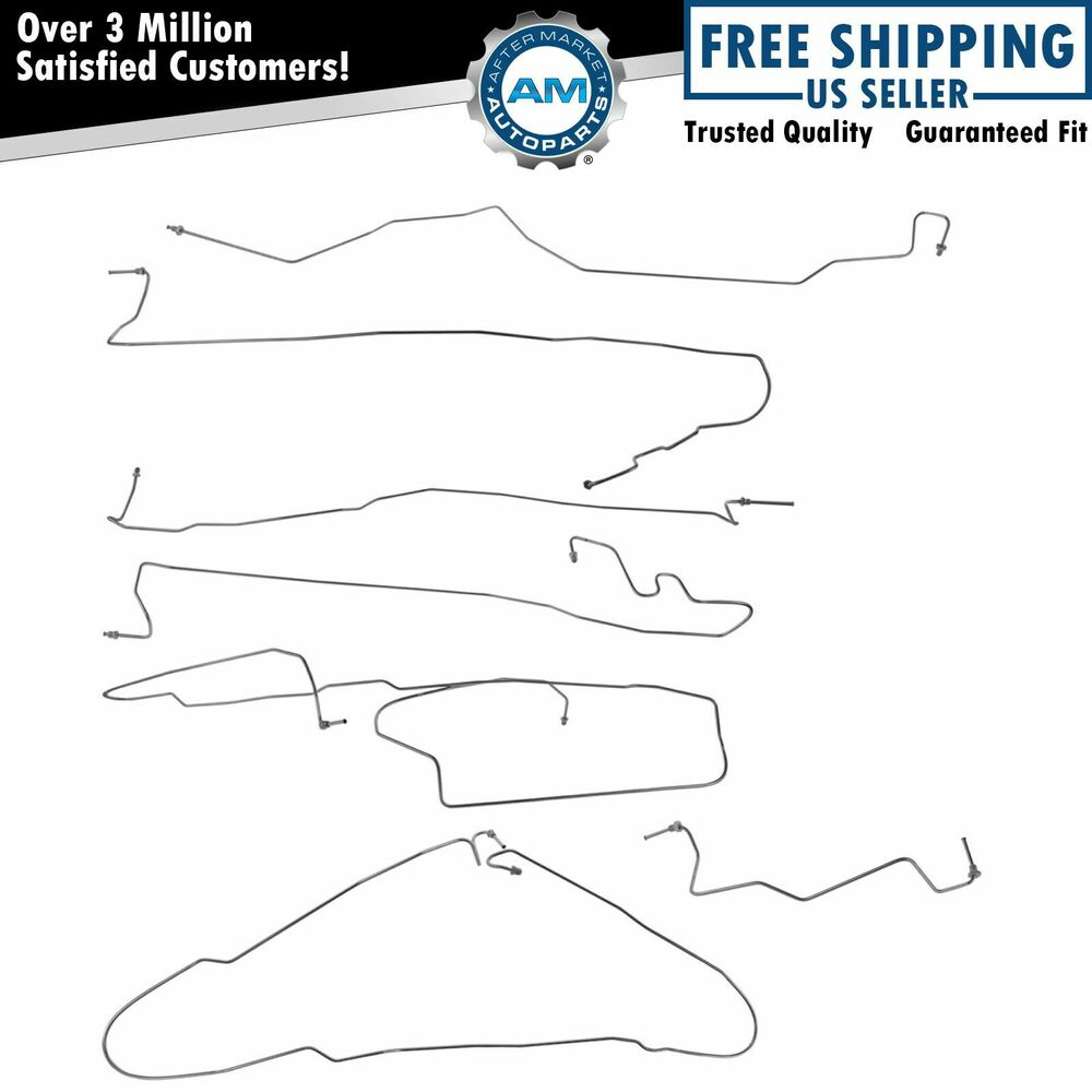 1999 Tahoe Brake Lines Stainless Steel : Dorman stainless brake line kit for chevy gmc