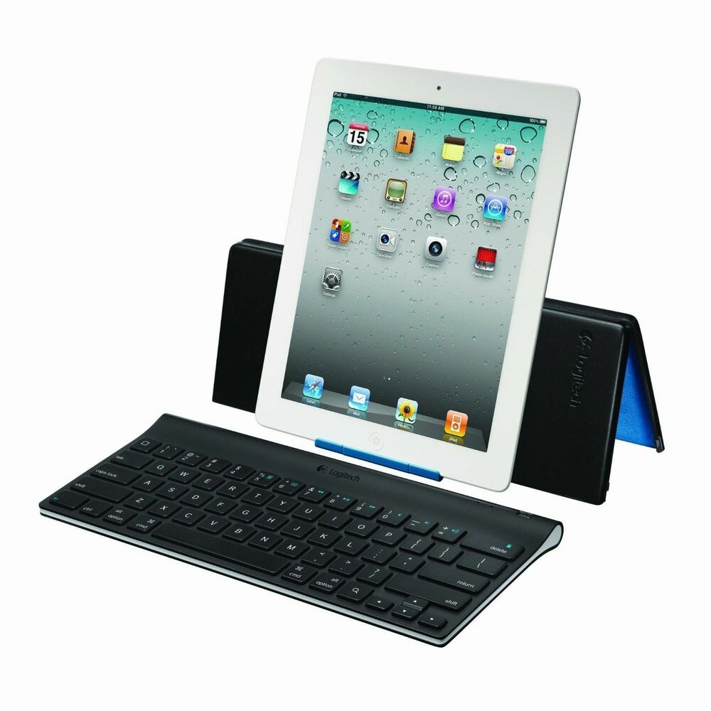 Logitech 920-003676 Tablet Bluetooth Keyboard And Stand For IPad IPad 2 Air Mini