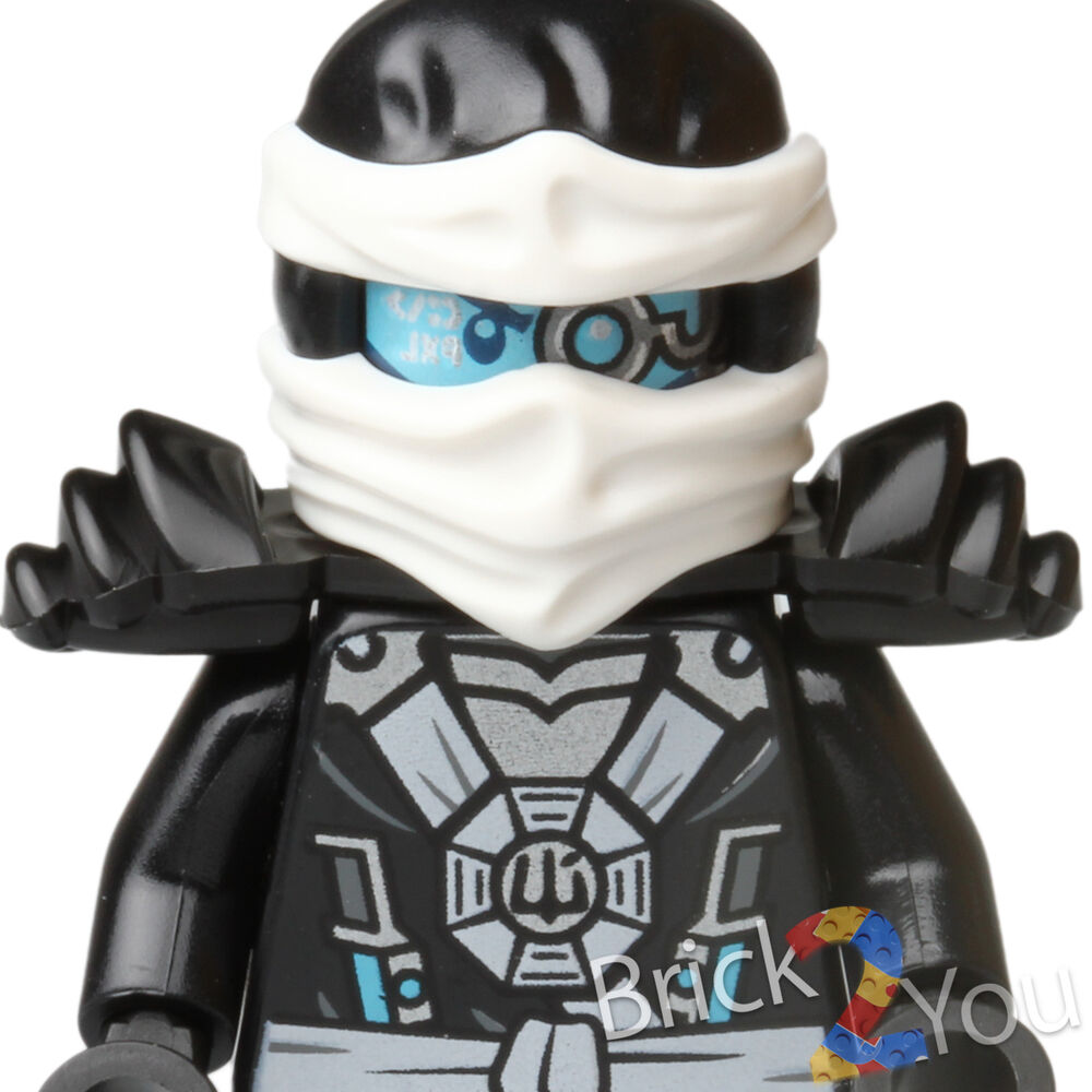Lego ninjago zane minifigure from 70737 titan mech battle new ebay - Ninja ninjago ...