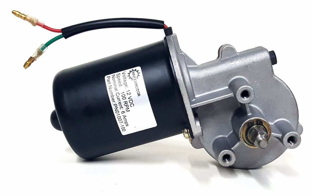 makermotor 100 rpm electric gear motor 12v low speed
