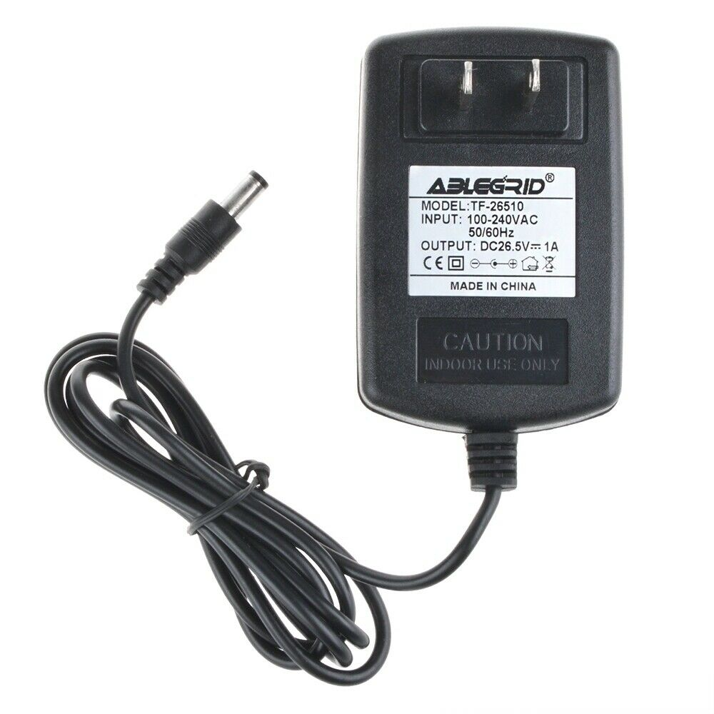Ac 100 240v 26 5v 1a Dc Adapter Charger Power Supply Cord