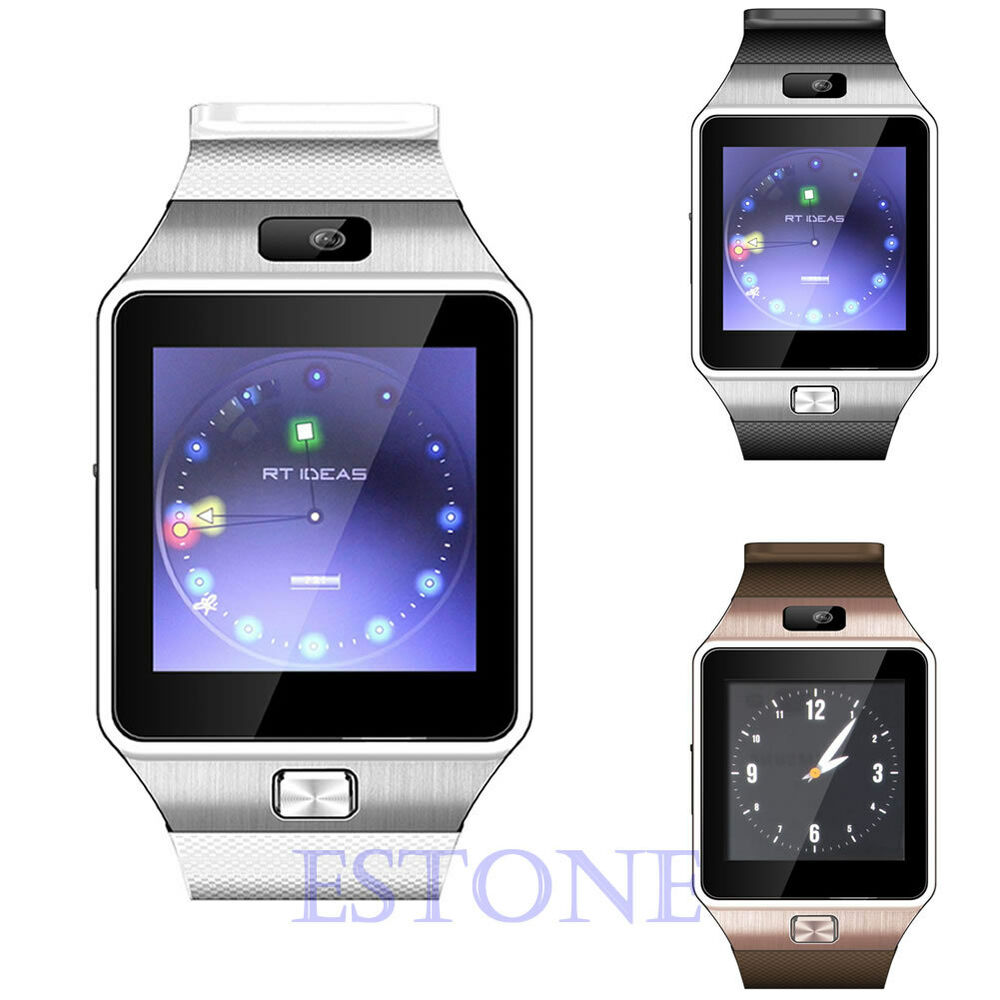 bluetooth watch for iphone dz09 bluetooth smart wrist for iphone samsung 13693