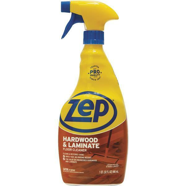 Laminate Wood Flooring Cleaner: 3 Pack Zep 32 Oz Commercial Laminate Hardwood Wood Floor