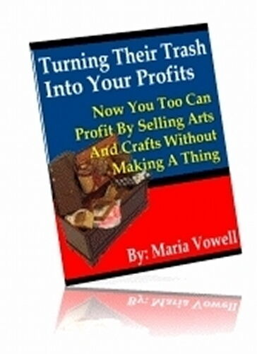 Turn their trash into your profits sell arts crafts for Crafts that sell on ebay