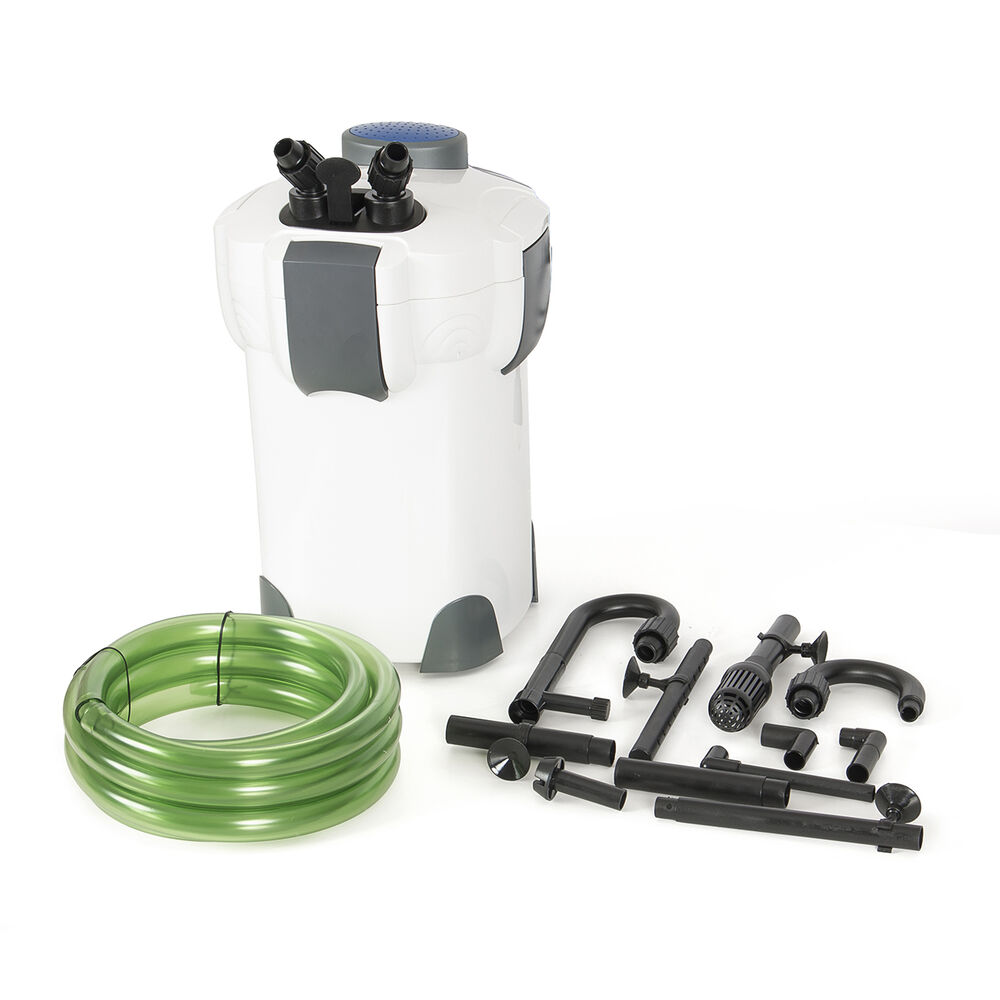 Fish canister external 3 stage filter pump for aquarium for 100 gallon pond pump