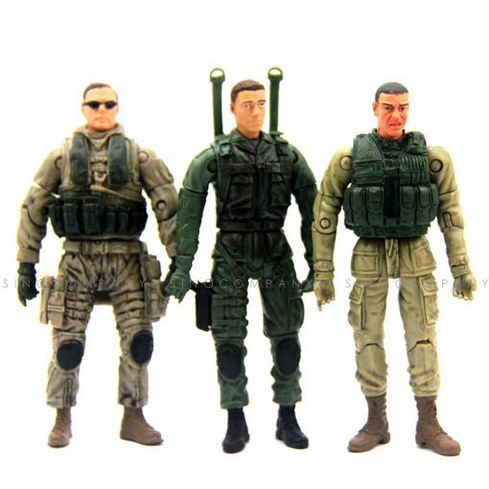 Military Toys Elite Force 1 18 : Lot three bbi elite force special ops navy