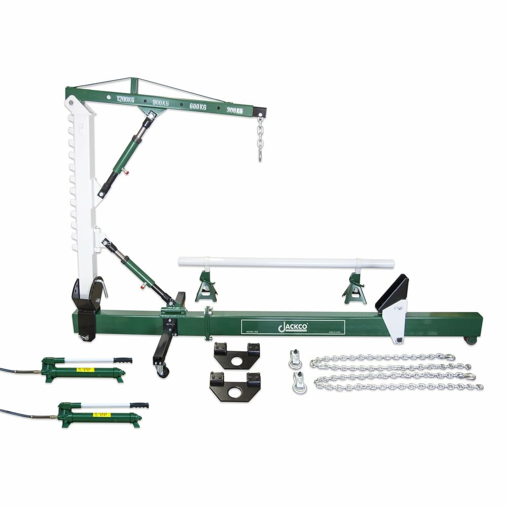 10 Ton Auto Body Frame Repair Straightener With 1 2 Ton