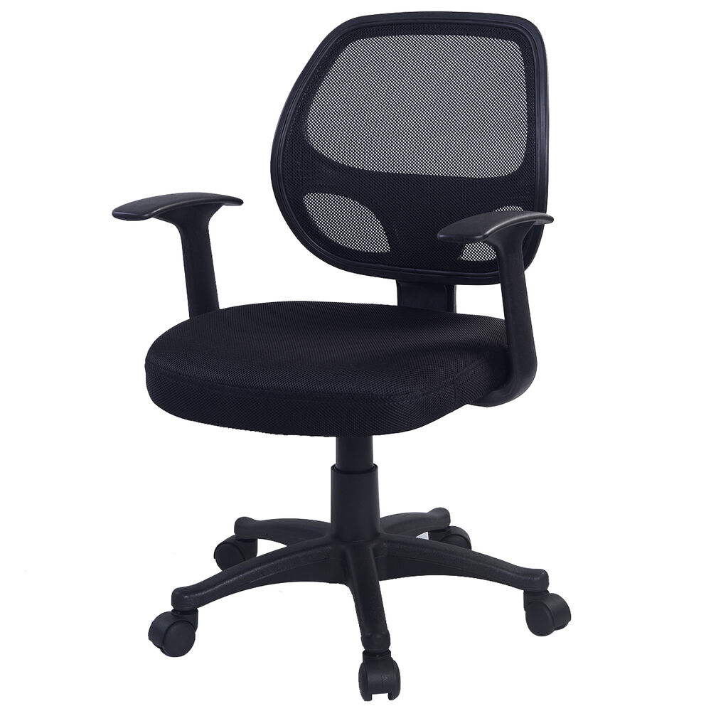 New Ergonomic Mid-back Mesh Swivel Computer Office Desk ...