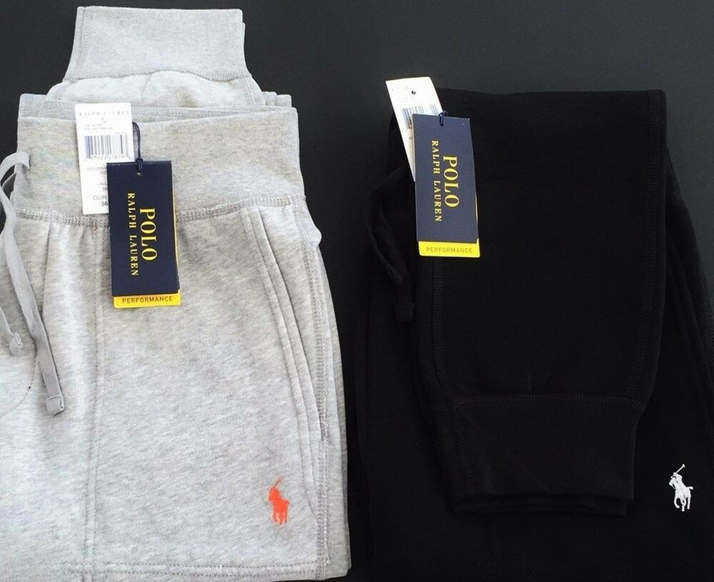 New Ralph Lauren Men s Fleece Athletic Joggers Pants Sweatpants All Size  15eae0e17