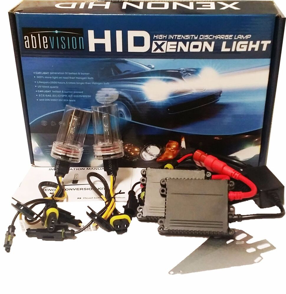 55w hid xenon headlight conversion kit h1 h3 h4 h7 h8 h10. Black Bedroom Furniture Sets. Home Design Ideas