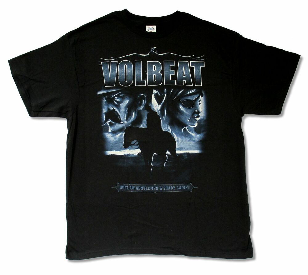 volbeat lonesome ranger black t shirt new official adult. Black Bedroom Furniture Sets. Home Design Ideas