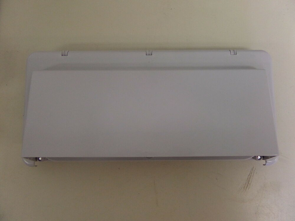 new rv trailer camper exterior ducted range hood vent cover gray ebay