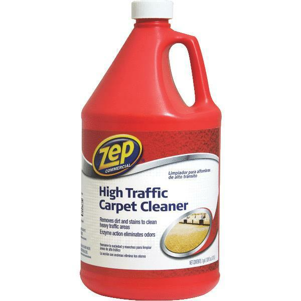 carpet spot cleaner 8 gal zep high traffic carpet amp spot cleaner 31302