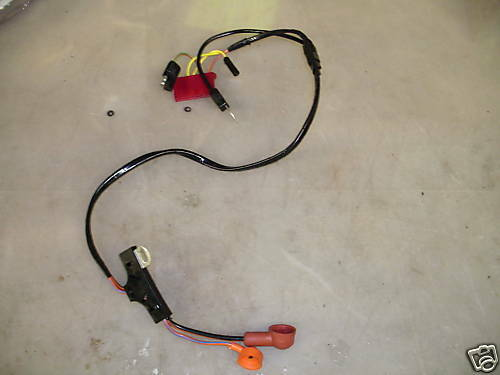 1972 Ford Mustang Alternator Wiring Harness W Tach 302