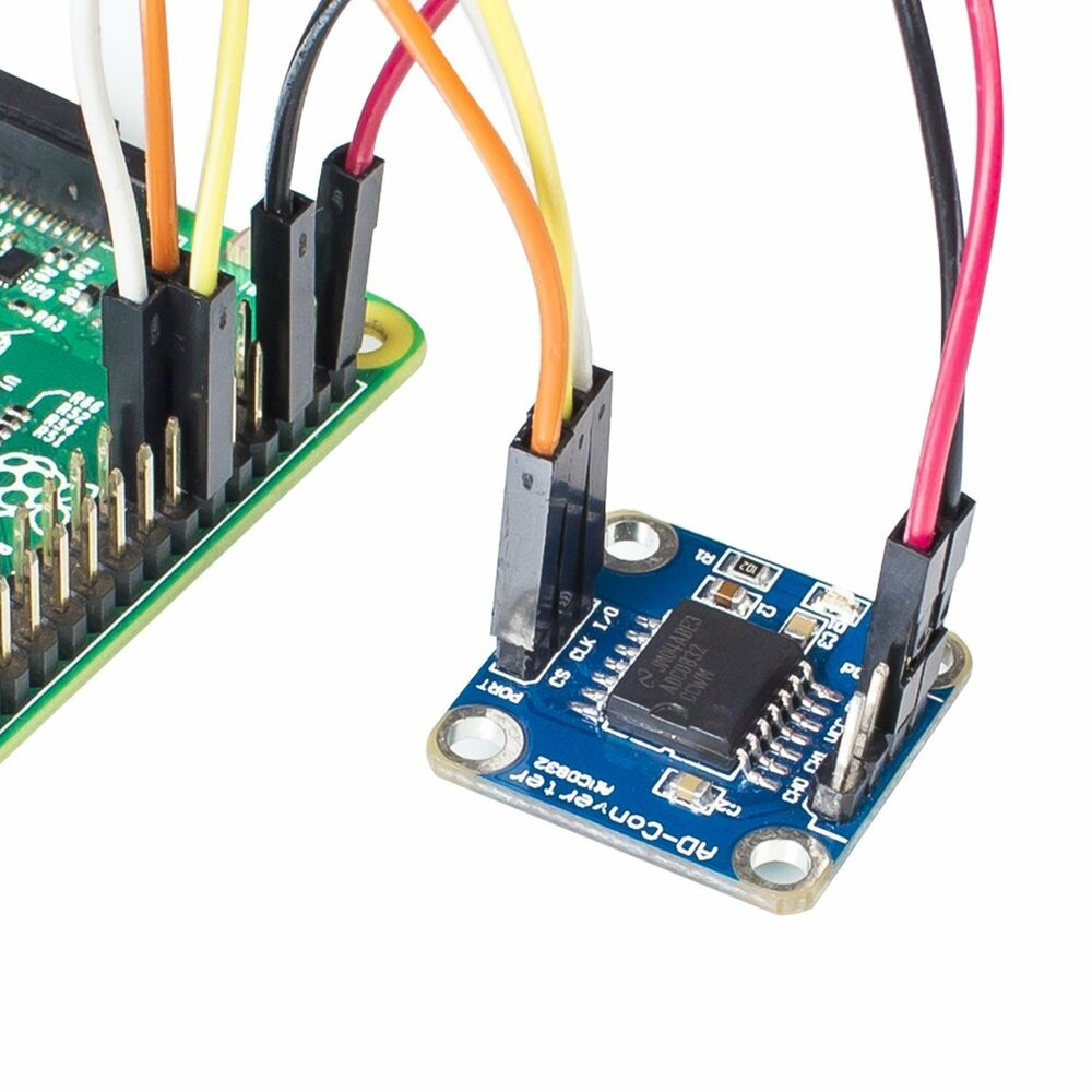 SunFounder AD Converter-ADC0832 Module for Raspberry Pi ...