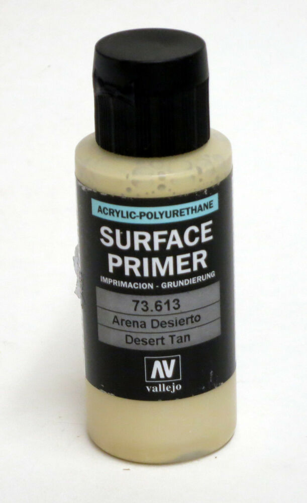 Vallejo Desert Tan Surface Primer 60ml 2oz Acrylic Polyurethane Ebay