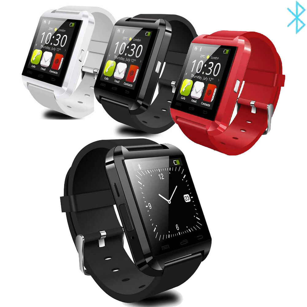 Smart Wrist Bluetooth Watch For Android Samsung Galaxy S5 ...