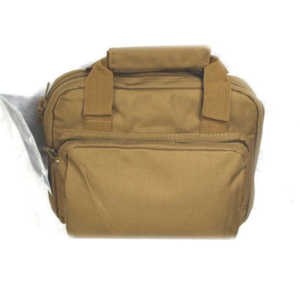 "11"" Coyote Tan Padded Bag Range Pistol Hand Gun Soft Case Hunting ...: www.ebay.com/itm/11-Coyote-Tan-Padded-Bag-Range-Pistol-Hand-Gun..."