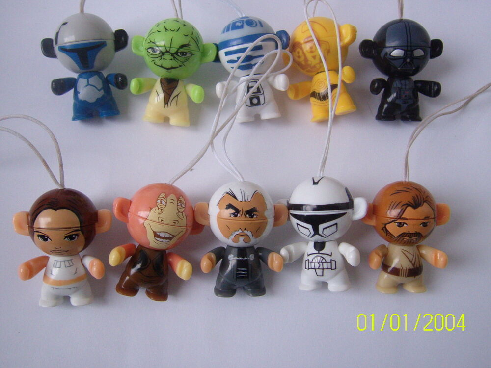 kinder surprise complete figures set star wars twistheads 2012 ebay. Black Bedroom Furniture Sets. Home Design Ideas