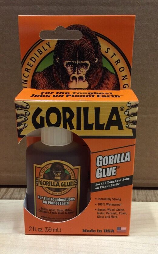Best Glue For Stone : New gorilla glue oz waterproof super strong paintable