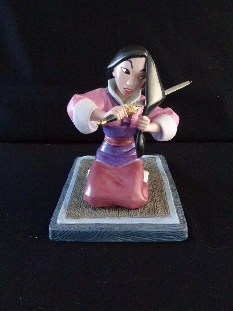 disney wdcc walt disney classics collection mulan tribute series figurine mint ebay. Black Bedroom Furniture Sets. Home Design Ideas