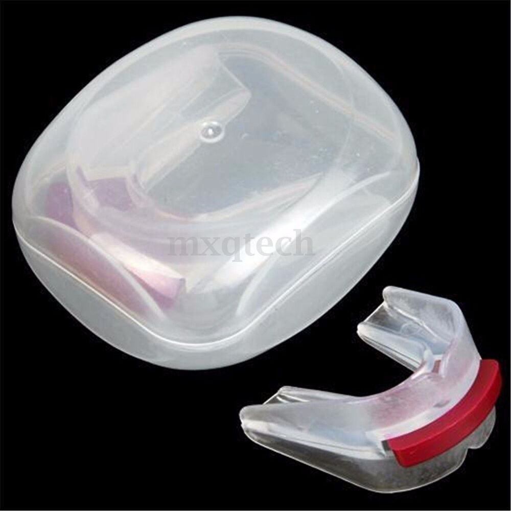 stop snoring mouthpiece apnea aid sleep bruxism anti snore grind mouthguard new