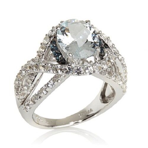 Wieck Silver   Ct Absolute Marquise Pave Ring