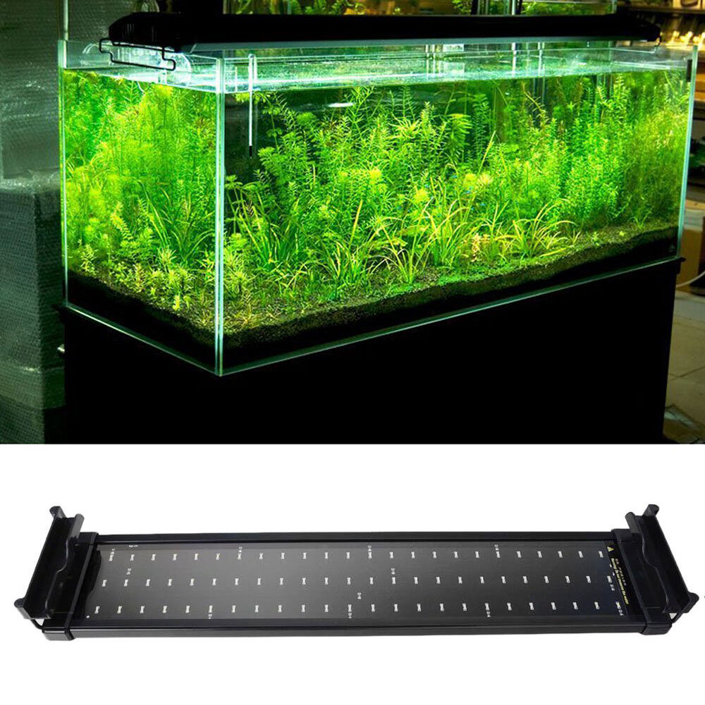 70cm extendable aquarium aqua fish tank smd led light lamp. Black Bedroom Furniture Sets. Home Design Ideas