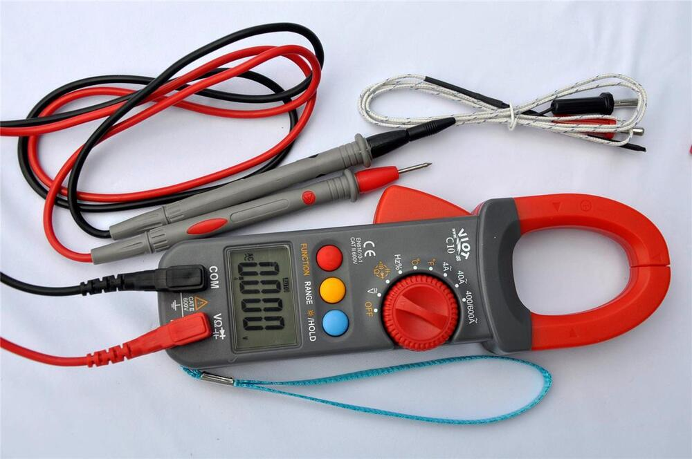 Check Ac Capacitor With Multimeter : Digital clamp meter ammeter multimeter dmm capacitor