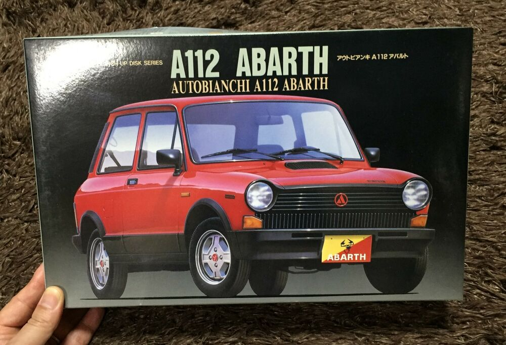 AUTOBIANCHI A112 ABARTH 1/24 MODEL KIT FUJIMI JAPAN | eBay