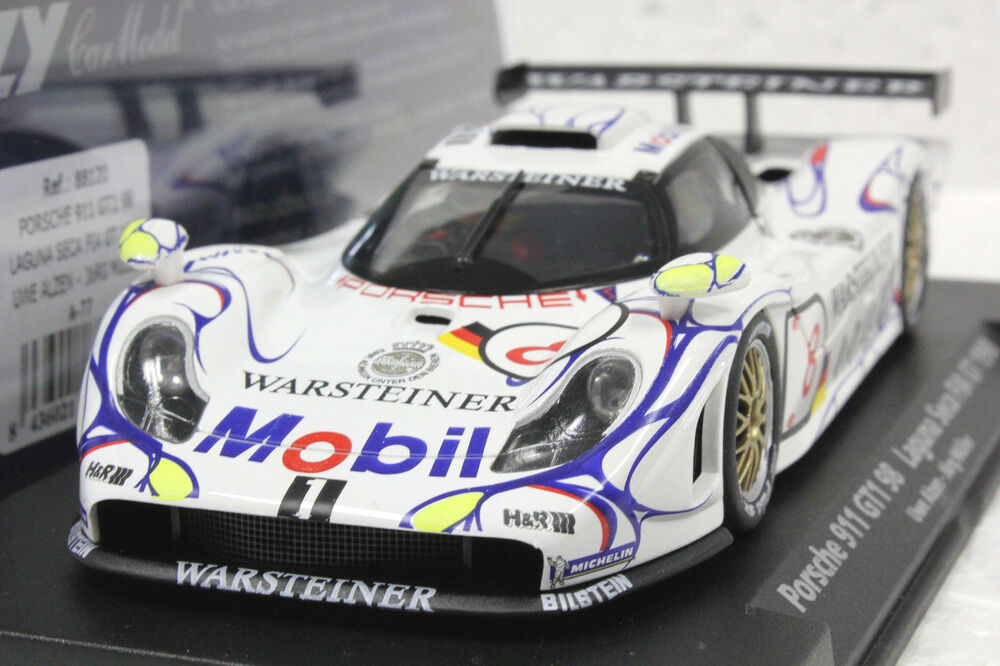 fly a77 porsche gt1 98 laguna seca 1998 new 1 32 slot car in display box ebay. Black Bedroom Furniture Sets. Home Design Ideas