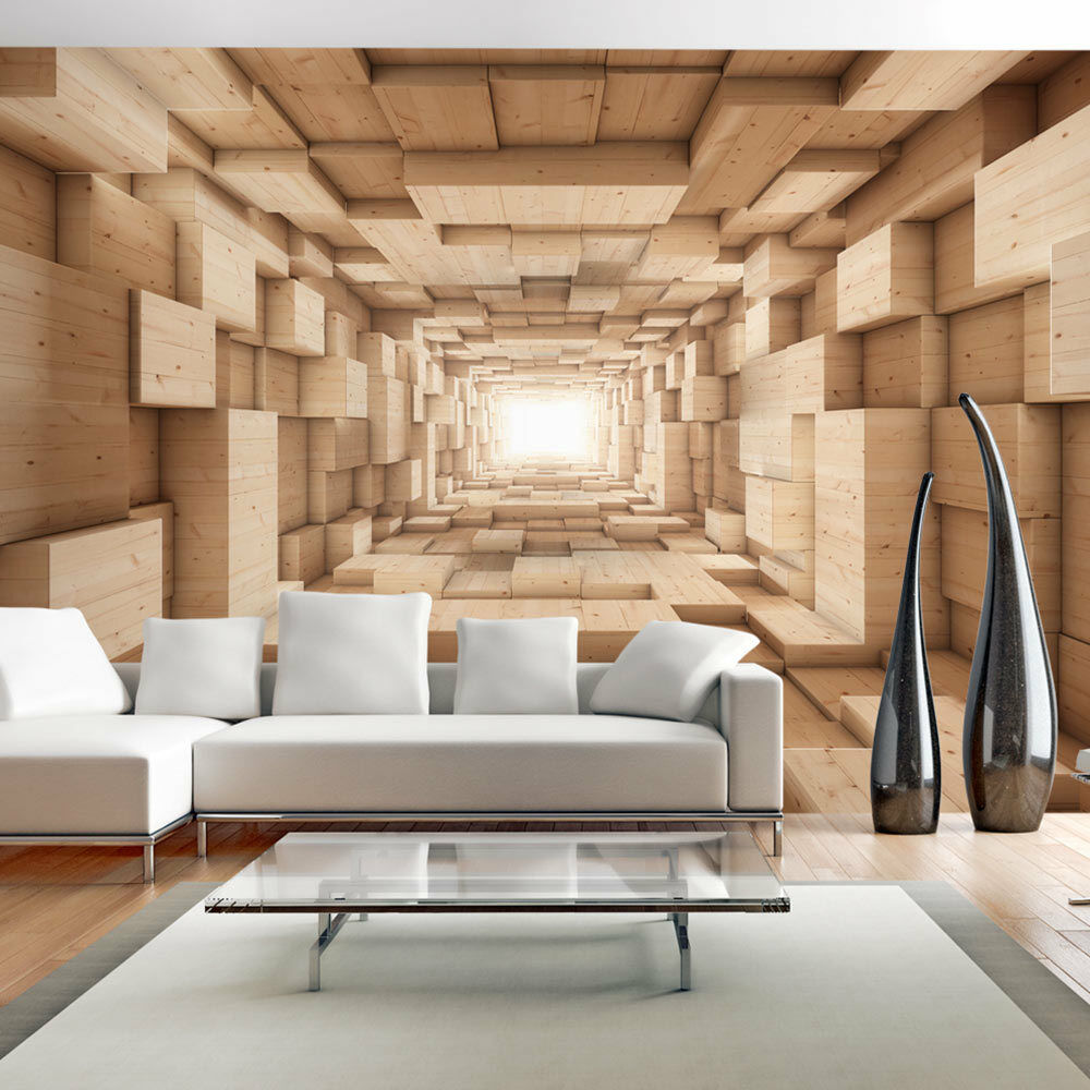 vlies fototapete 3 farben zur auswahl tapeten tunnel 3d optisch a a 0125 a b ebay. Black Bedroom Furniture Sets. Home Design Ideas