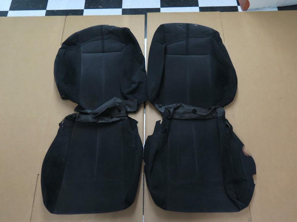 2007 2010 nissan altima 2 5 2 5s manual drivers oem cloth seat cover set s105b ebay. Black Bedroom Furniture Sets. Home Design Ideas